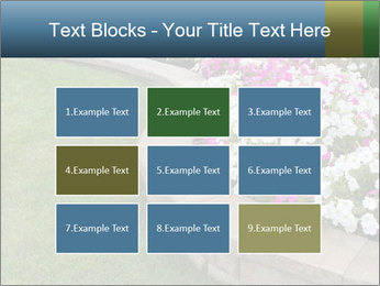 Flowerbed PowerPoint Template - Slide 68