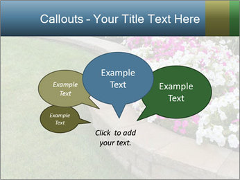 Flowerbed PowerPoint Templates - Slide 73