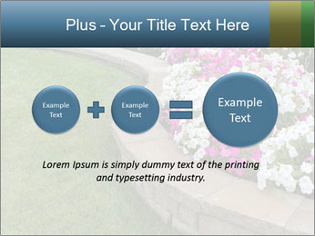Flowerbed PowerPoint Template - Slide 75