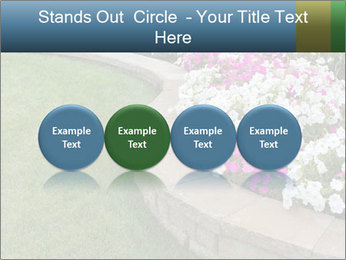Flowerbed PowerPoint Template - Slide 76