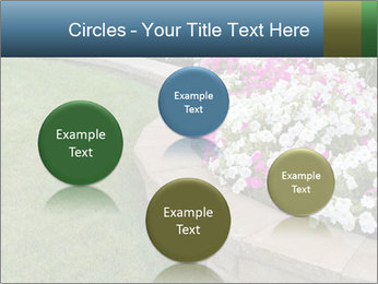 Flowerbed PowerPoint Template - Slide 77