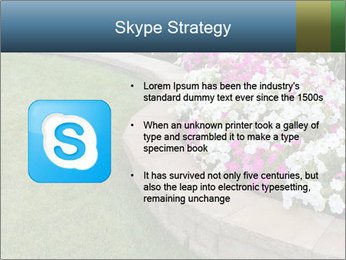 Flowerbed PowerPoint Template - Slide 8