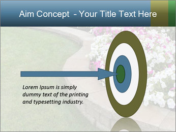 Flowerbed PowerPoint Template - Slide 83