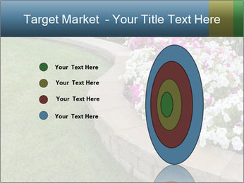 Flowerbed PowerPoint Template - Slide 84