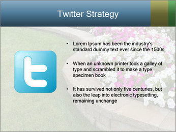 Flowerbed PowerPoint Template - Slide 9