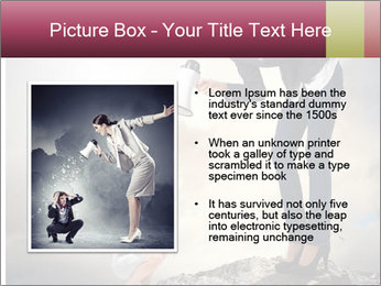 Shouting Boss PowerPoint Templates - Slide 13