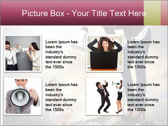 Shouting Boss PowerPoint Templates - Slide 14