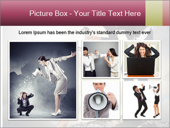 Shouting Boss PowerPoint Templates - Slide 19