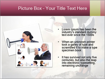Shouting Boss PowerPoint Templates - Slide 20