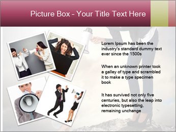 Shouting Boss PowerPoint Templates - Slide 23