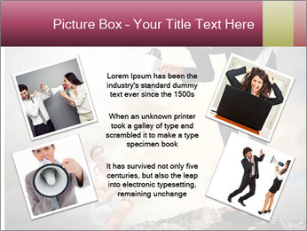Shouting Boss PowerPoint Templates - Slide 24