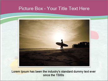 Yellow Kayak Boat PowerPoint Template - Slide 15