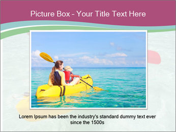 Yellow Kayak Boat PowerPoint Template - Slide 16