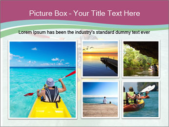 Yellow Kayak Boat PowerPoint Template - Slide 19