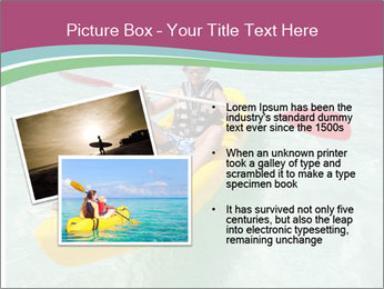 Yellow Kayak Boat PowerPoint Template - Slide 20