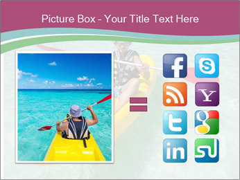 Yellow Kayak Boat PowerPoint Templates - Slide 21