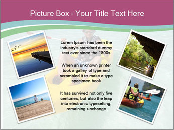 Yellow Kayak Boat PowerPoint Templates - Slide 24