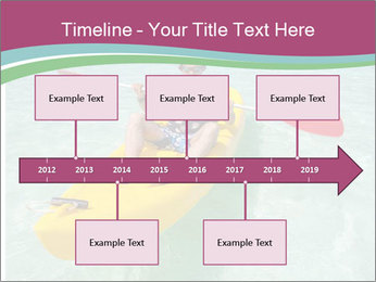 Yellow Kayak Boat PowerPoint Template - Slide 28