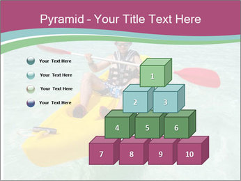 Yellow Kayak Boat PowerPoint Template - Slide 31