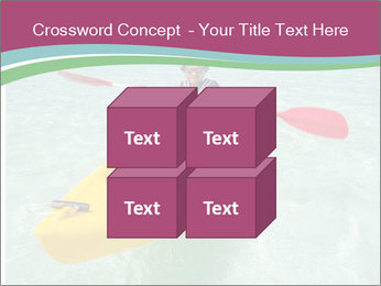 Yellow Kayak Boat PowerPoint Template - Slide 39
