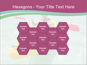 Yellow Kayak Boat PowerPoint Template - Slide 44