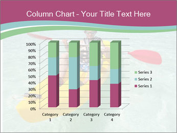 Yellow Kayak Boat PowerPoint Template - Slide 50