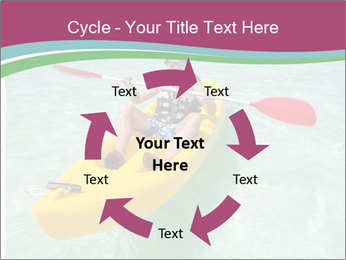 Yellow Kayak Boat PowerPoint Template - Slide 62