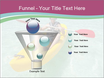 Yellow Kayak Boat PowerPoint Template - Slide 63