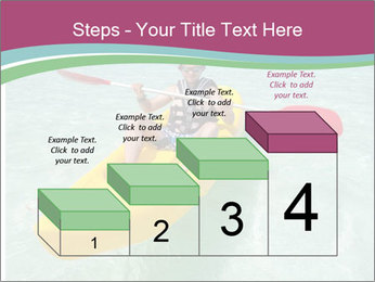 Yellow Kayak Boat PowerPoint Template - Slide 64