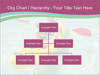 Yellow Kayak Boat PowerPoint Template - Slide 66