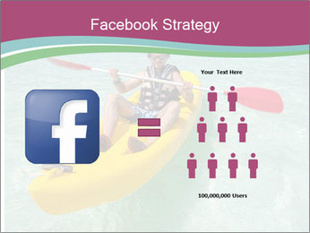 Yellow Kayak Boat PowerPoint Template - Slide 7