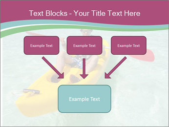 Yellow Kayak Boat PowerPoint Template - Slide 70