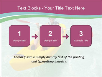 Yellow Kayak Boat PowerPoint Template - Slide 71