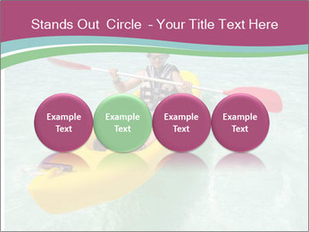 Yellow Kayak Boat PowerPoint Template - Slide 76