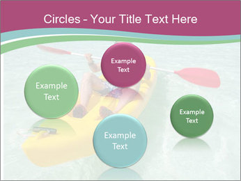 Yellow Kayak Boat PowerPoint Template - Slide 77