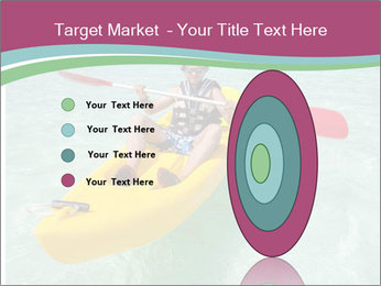 Yellow Kayak Boat PowerPoint Template - Slide 84