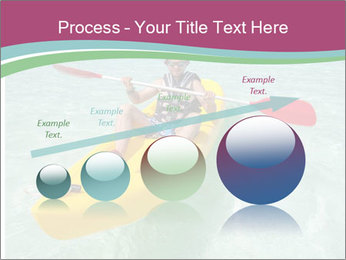 Yellow Kayak Boat PowerPoint Template - Slide 87
