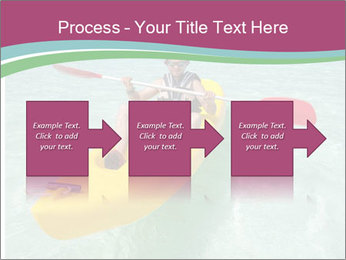 Yellow Kayak Boat PowerPoint Template - Slide 88