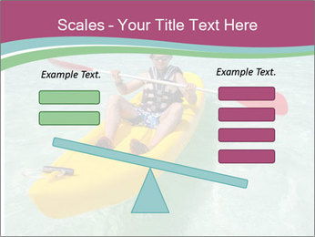 Yellow Kayak Boat PowerPoint Template - Slide 89