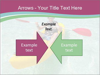 Yellow Kayak Boat PowerPoint Template - Slide 90