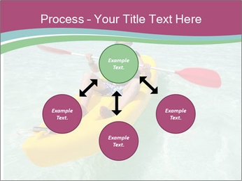 Yellow Kayak Boat PowerPoint Template - Slide 91