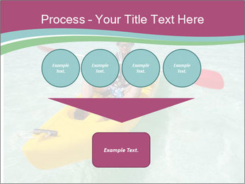 Yellow Kayak Boat PowerPoint Template - Slide 93