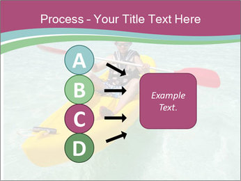 Yellow Kayak Boat PowerPoint Templates - Slide 94