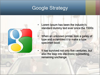 Friends Driving Car In LA PowerPoint Template - Slide 10