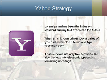 Friends Driving Car In LA PowerPoint Template - Slide 11