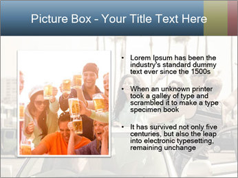 Friends Driving Car In LA PowerPoint Template - Slide 13