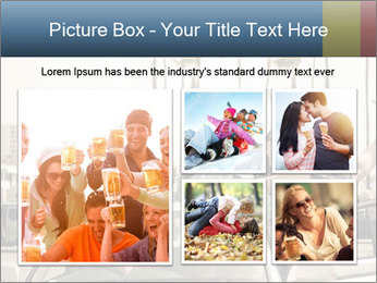 Friends Driving Car In LA PowerPoint Template - Slide 19
