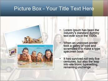 Friends Driving Car In LA PowerPoint Template - Slide 20