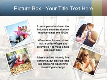 Friends Driving Car In LA PowerPoint Template - Slide 24