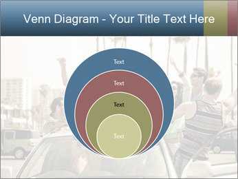 Friends Driving Car In LA PowerPoint Template - Slide 34